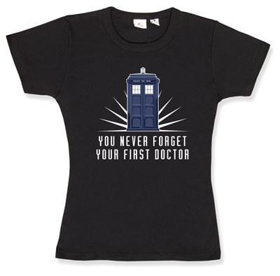 You never forget your first Doctor (who)