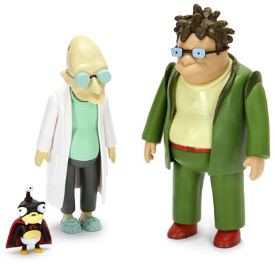 Farnsworth and Hermes and a little extra from Futurama