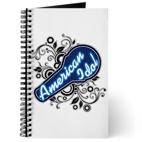 American Idol Journal for writing your songs