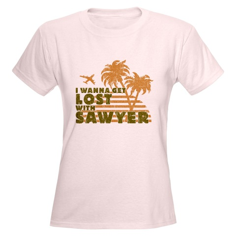 Women's Lost with Sawyer T-Shirt
