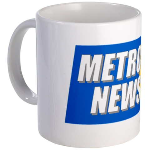 Metro 1 news mug