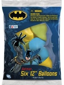 batman party balloons