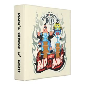Patick and Spongebob bad tothe bone