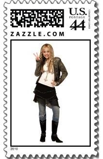 hannah montana postage stamp