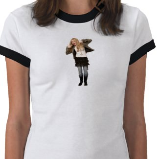 Hannah Montana T-Shirt that you can personalise