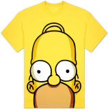 Homer Simpson huge face T-Shirt