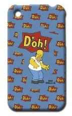 Homer Simpson iPhone protection case