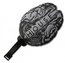 House Brain Luggage Tag