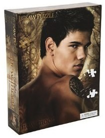 Jacob Black from the Twilight Saga now on a jigsaw puzzle