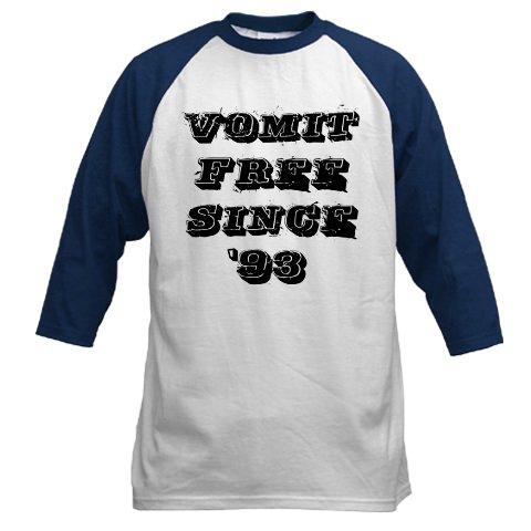 Vomit free since '93 Jersey