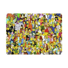 All the people we know from the Simpsons now on a mouse pad