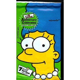 Simpsons Trading Cards fun to play with and to collect