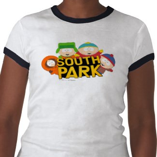 The Boys from South Park all on one T-Shirt