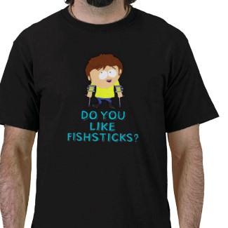 Jimmy Valmer on a South Park T-Shirt