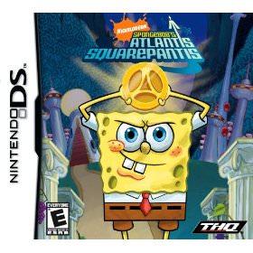 Spongebob Atlantis Squarepantis video game for the Nintendo DS