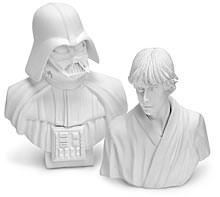 Star wars mini busts from Japan