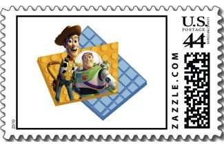 Send your mail with a Toy Story Stamp