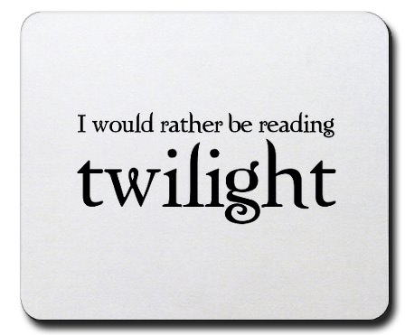 Reading the Twilight saga is fun