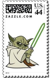 A Yoda Postage Stamp