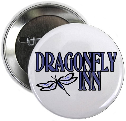 Dragonfly Inn button from the Gilmore Girls