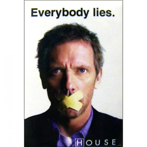 House ''Everybody Lies'' Magnet