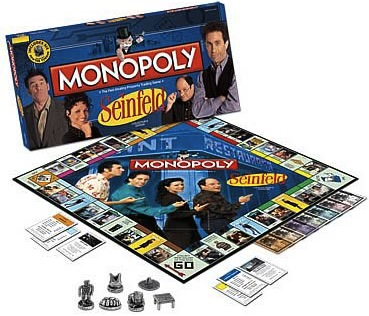 Seinfeld Monopoly Game Collectors Edition