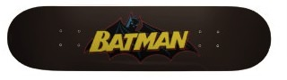 batman skateboard with the logo from the oldendays