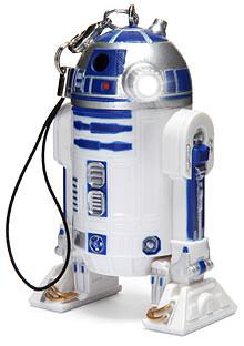 R2-D2 LED Light Keychain