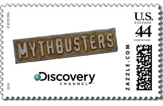 Mythbusters Stamp