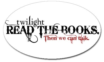 Read Twilight and we can talk
