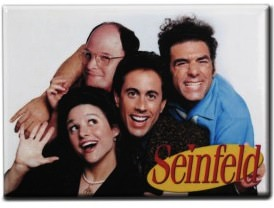 Seinfeld Cast Magnet
