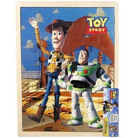 48 piece wooden Toy Story Puzzle