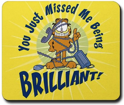 Brilliant Garfield Mousepad