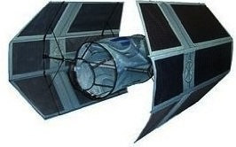 Darth Vader Tie Fighter Kite