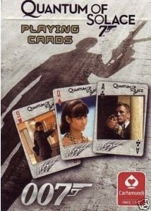 Quantum of solace 007 cards