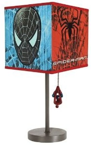 Spider man table lamp