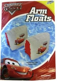 Arm floaties from Cars