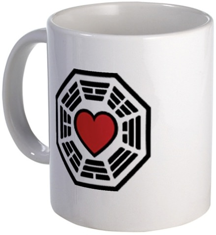 Lost Dharma Love mug