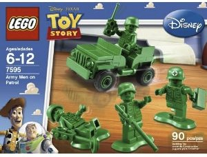 Toy Story Lego Army Men on patrol
