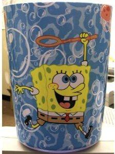 spongebob baset for you garbage