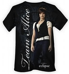 team alice T-shirt from the movie eclipse
