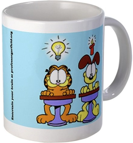 Garfield back to school mug