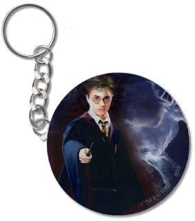 Harry Potter Patronus keychain