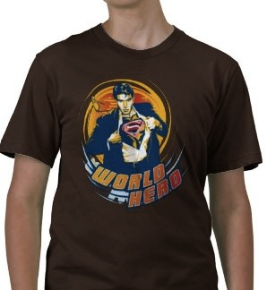 Superman World Hero Tshirt