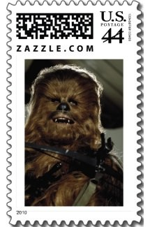 chewbacca stamps