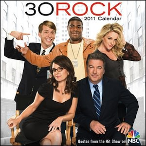 30 Rock 2011 Desk Calendar