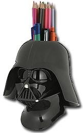 Sculpted Darth Vader Pencil Holder