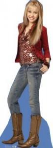 Miley Cyrus, Hannah Montana Cutout