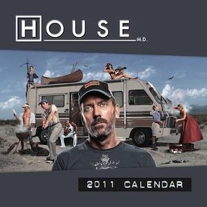 House M.D. 2011 Wall Calendar