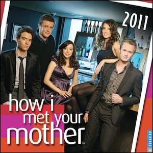 How I Met Your Mother 2011 Wall Calendar